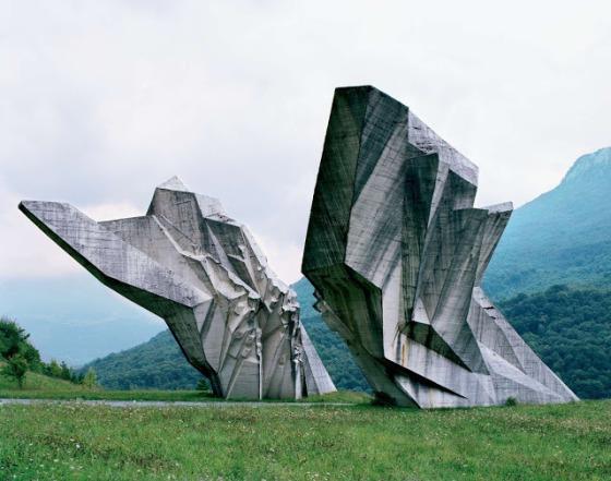 Yugoslavian monument